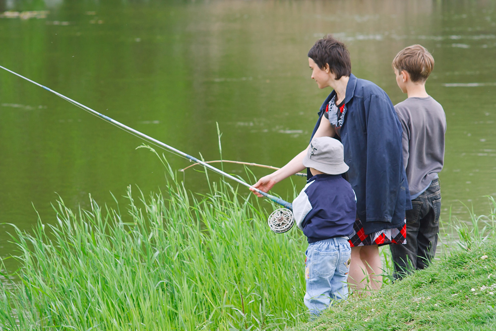 Learn how to fish from the shore of a pond, river, lake or coastline.